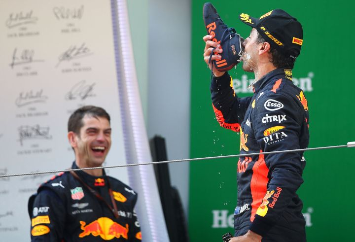 Ricciardo's ritual returns at Monaco Grand Prix