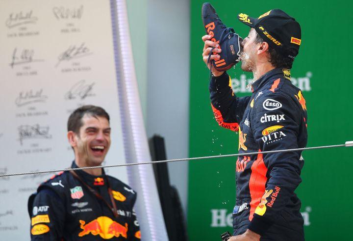 Ricciardo's ritual returns at Monaco GrandPrix